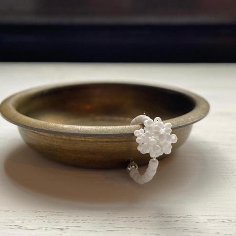 イヤーカフ white  bonbon/Czech [1piece]