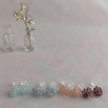 pastel colour petit pierce[purple]