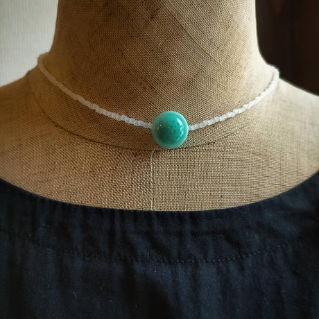 Mizuiro short  necklace [オンライン限定/vintage]