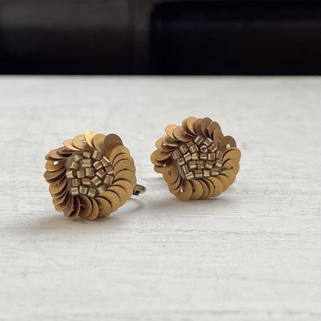 Daisy gold  pierce &earring[オンライン限定]
