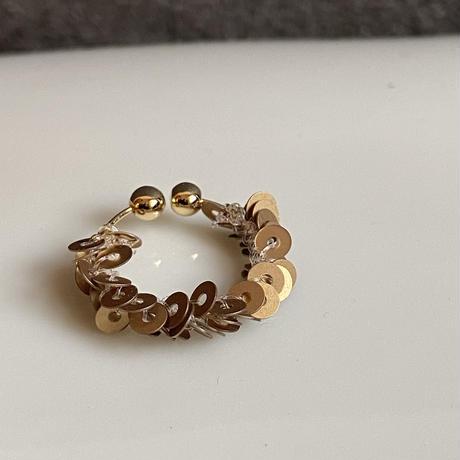 hira hira イヤーカフ antique  gold/Italy[1piece]