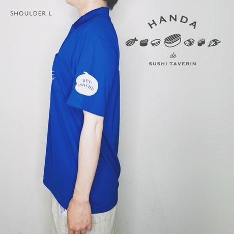 【送料無料】すしポロシャツ (WEB限定カラー ロイヤルブルー)