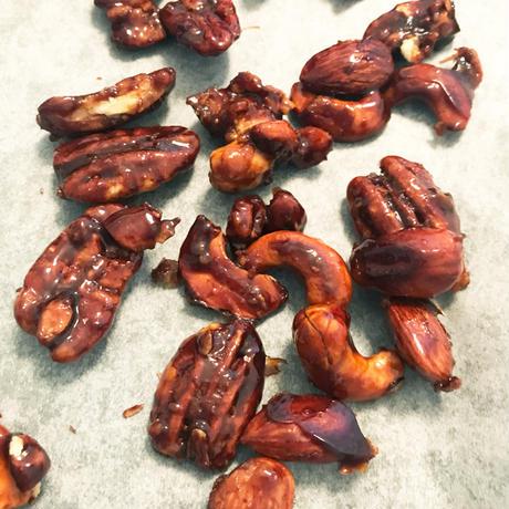 3種のキャラメルナッツ M