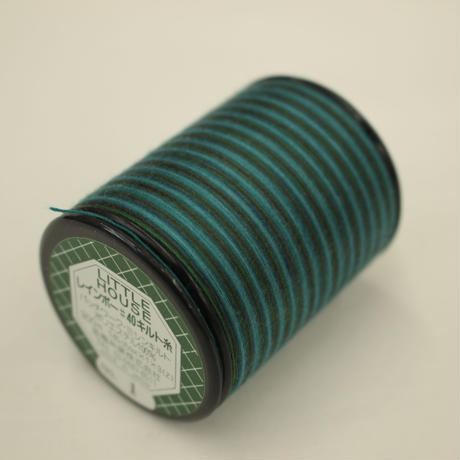 LITTLE HOUSE レインボーキルト糸 #40/300m 色番1