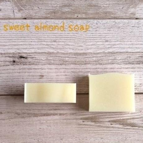 Sweet almond soap