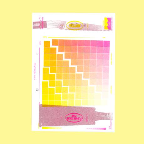 Hand Saw Press color chart 2018