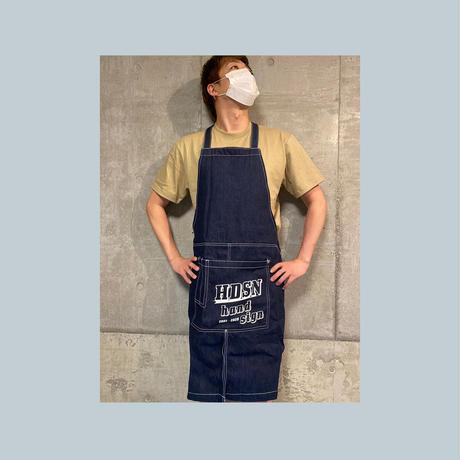 LOGO apron(デニム)