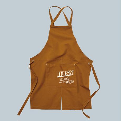 LOGO apron(キャメル)