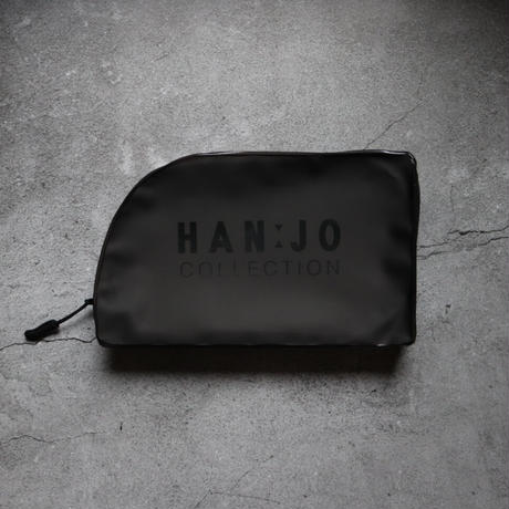 2way stand see-through pouch HANJO