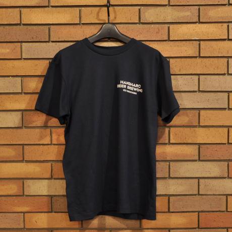 ネイビー: 反射炉ビヤオリジナルTシャツ