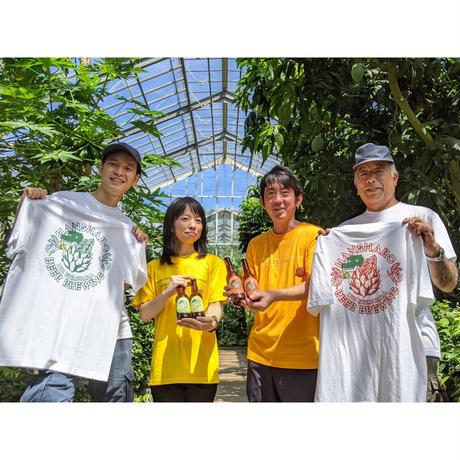 【選べる4色】熱川バナナワニ園×反射炉ビヤコラボTシャツ