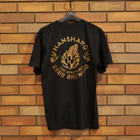ブラック: 反射炉ビヤオリジナルTシャツ