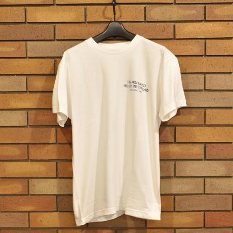 ホワイト: 反射炉ビヤオリジナルTシャツ