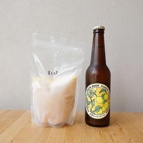魔法のラーメン2食&ビール4本セット