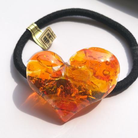 glass heart(orange)