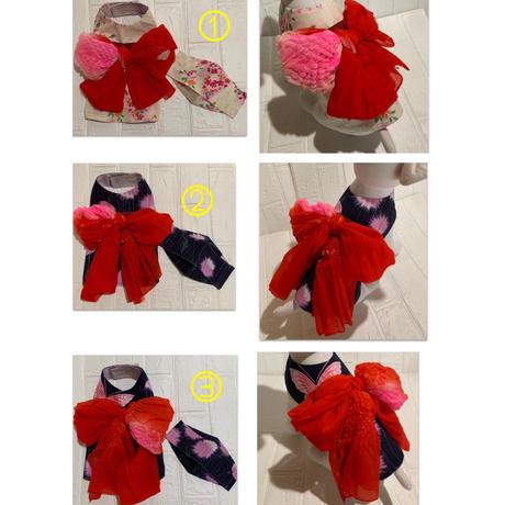 (Sロング)マママスクとお揃いわんこ服 お祭りバージョン❣️女の子用