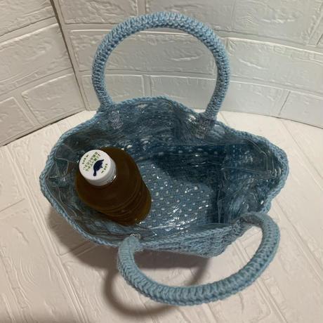 編み編み内側ビニールバック