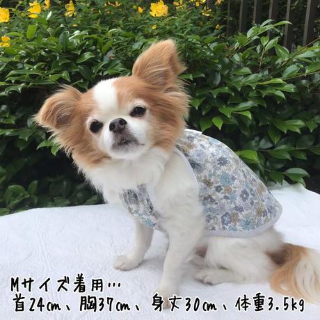 S・ワンコ服・花柄キャミ(Sサイズ)