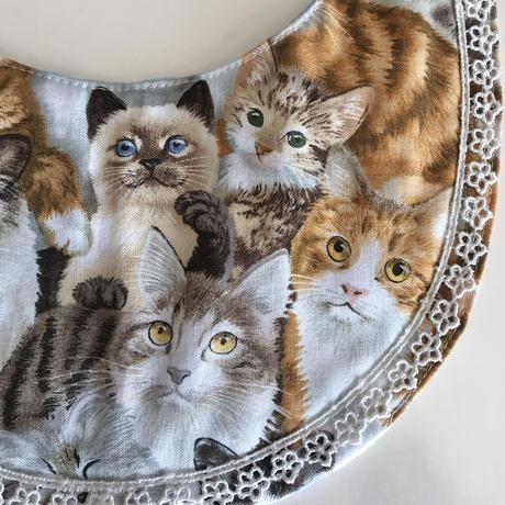ペット用スタイS(猫柄)