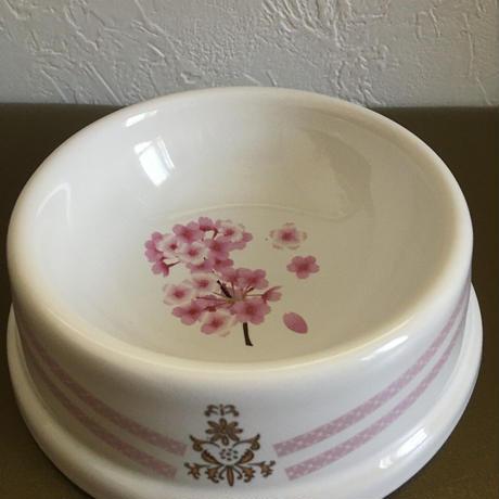 フードボウル ピンク 桜柄