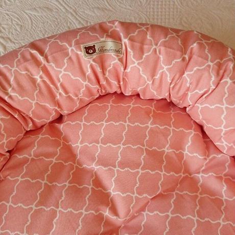 わんことにゃんこのまん丸ベッド モロッカン柄