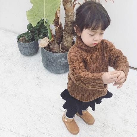 unisex Knit brown