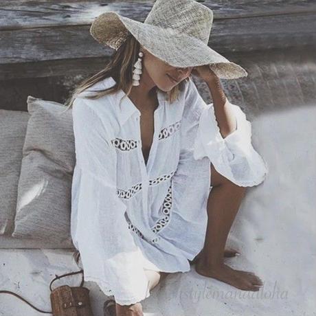 Bohemian tunic one-piece