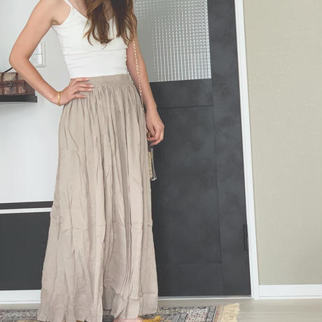 washer maxi skirt