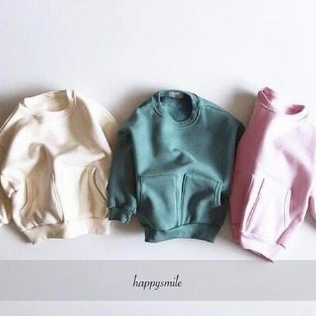 予約特権価格くすみcolour pullover