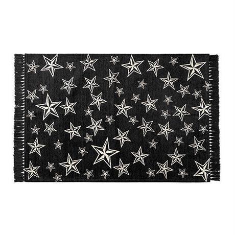 STAR FRINGE RUG 140×200