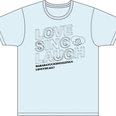 ハラダユウコTシャツ[blue]