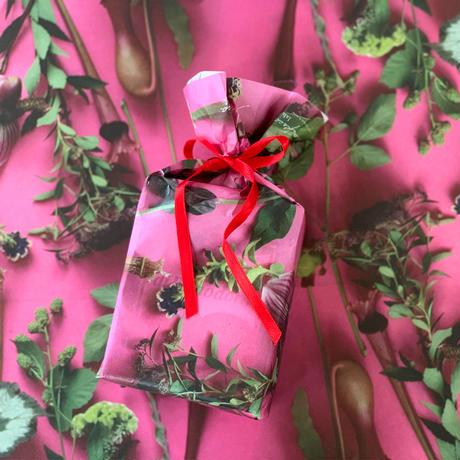 ハラペコラボの包装紙 -moe moe harapecolab peper 2018 summer pink- (2)