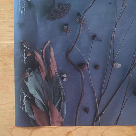 ハラペコラボの包装紙 -moe moe harapecolab peper 2018 winter black gray- (4)