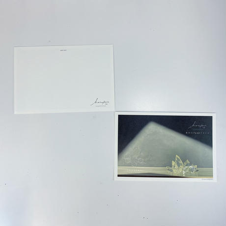 ハラペコラボのポストカード  -crystal