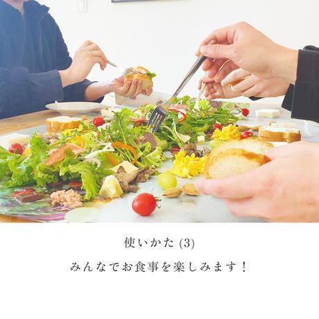 サラダロードシート・ムツロマサコデザイン黒 (2枚入)