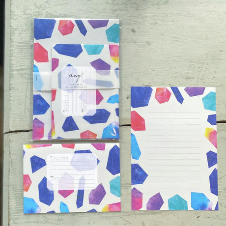 any. paper 宝石 レターセット
