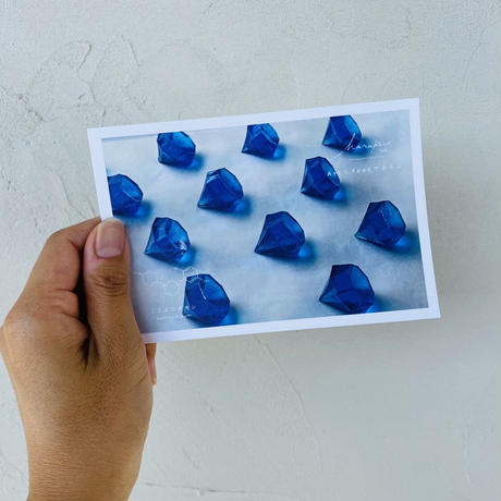 ハラペコラボのポストカード  - Blue Diamond