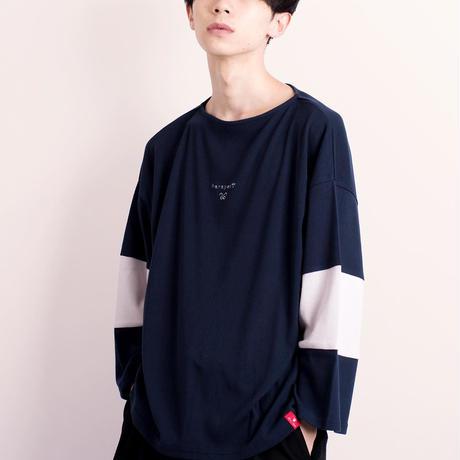 刺繍ワイドTee【18SS-03】