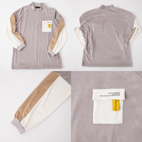 Velvet HighNeck Pullover【HP20-HP01】