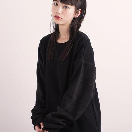 刺繍ボアスウェットカットソー【HP18-08】