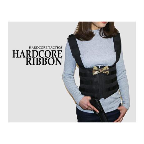 HARDCORE RIBBON(BOW)Velcro Patches