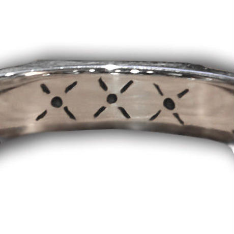 BE FREE RING SILVER&BRASS