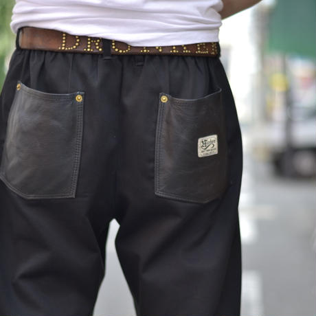 "HARDEE ""PFRM""TINO EASY PANTS BLACK"