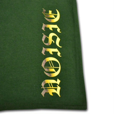 BURN POCKET T-SHIRT GREEN