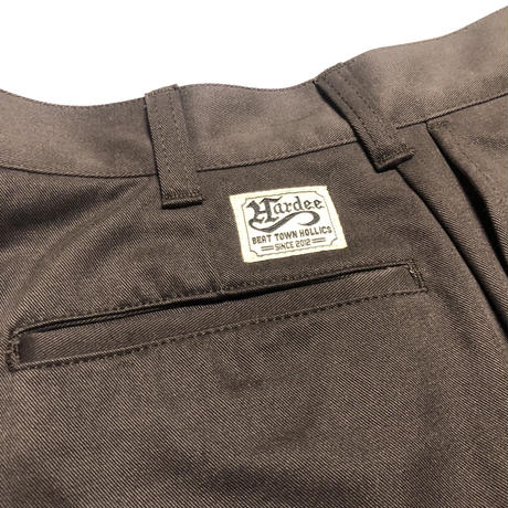 18AW TINO PANTS BROWN