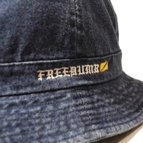 "HARDEE ""74""DENIM CREW HAT BLUE"
