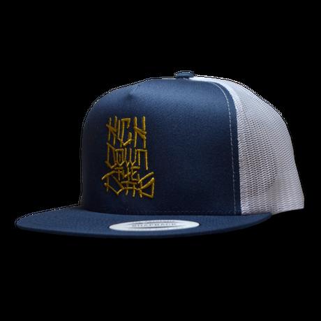 """""""42"""" 2TONE MESH CAP NVY/WHT"""