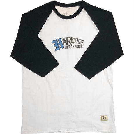 TWIST RAGLAN TEE WHITE