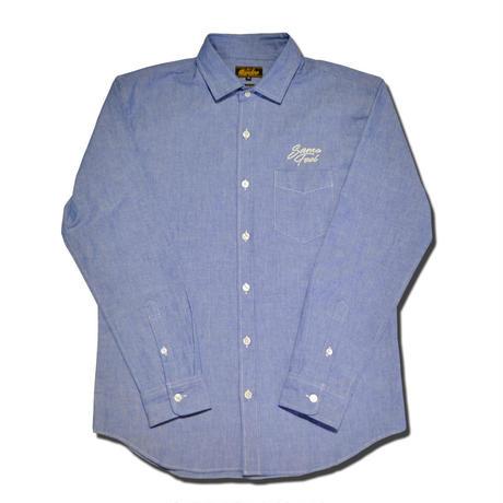 SIDEWAY L/S SHIRT BLUE