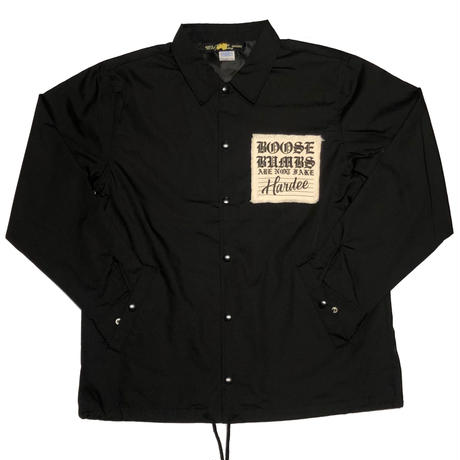 """TWIST"" COACH JACKET  BLACK"